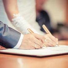 Kom uw huwelijkse voorwaarden na